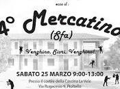Mercatino SFA, Sabato marzo, dalle 9:00 alle 13:00, presso Cascina Vele Rugacesio Pioltello, terrà quarta edizione mercatino organizzato nostro