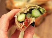 Strudelini pasta fillo asparagi, pomodori secchi stracchino
