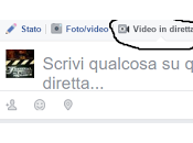 Facebook, dirette video anche