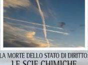 Novità editoriale sulle scie chimiche
