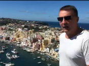"Video. Youtuber lombardo Procida: ""Bellezza indescrivibile. paura"