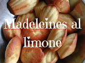 Madeleines limone: ricetta Acqua Farina Sississima