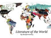 grande mappa della letteratura mondo