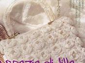 Borsa Millerose piastrelle crochet, schema bag, made with crochet squares, free patern