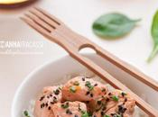Filetti salmone Whisky marinatura orientale