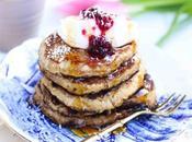 Pancake cocco banana senza farina