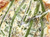Torta salata asparagi prosciutto cotto