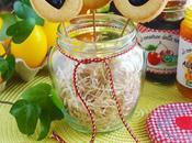 Biscotti Pasquali stecco alle mandorle cuore confettura