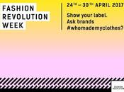 April 2017 FASHION REVOLUTION WEEK!
