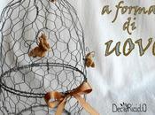 Cestino forma uovo, rete conigliera