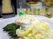 Uovo d'oca camicia asparagi, crema grana Raspadura