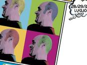 """Castellarte: tema della XXIV edizione """"Avanti Pop"""". grafica celebra Andy Warhol ricordo Antonio Ippolito."""