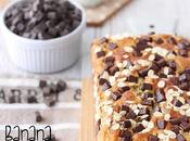 Banana bread pezzi cioccolato avena