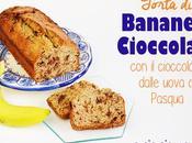 Come usare cioccolato avanzato dalle uova Pasqua: Torta Banane Cioccolato