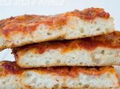 Pizza senza glutine alta soffice
