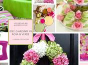 Moodboard #52: idee rosa verde vivere modo Hygge giardino