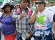 difesa della terra. movimento campesino nicaraguense marcia