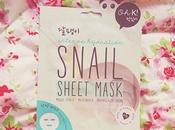 Intense Hydration Snail Sheet Mask