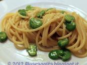 Spaghetti fave fresche pecorino