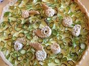 Crostata salata zucchine feta