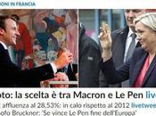 Ballottaggio Macron LePen: liberali contro populisti cambiare l'Europa