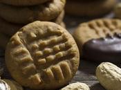 Peanut butter cookies Biscotti burro arachidi