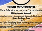 Primo Movimento scritto Gianfranco Vergoni: omaggio alla Italiana ROMA Teatro Altro Spazio, all'11 giugno 2017 (ore 21:30).