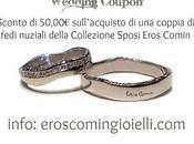 Sconto sulle fedi nuziali artigianali firmate Eros Comin Milano
