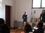 GUBBIO secondo anno, TERRACOMUNICA torna impegnarsi conoscere tradizioni festa Ceri agli ospiti rifugiati centro CIDIS Coppiolo Gubbio