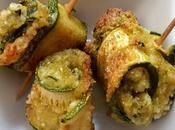 Involtini zucchine panure paneer