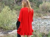 Stylewe. Rosso nero.