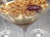 Zabaione latte mandorle granella nocciole cioccolato fondente