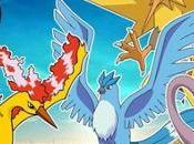 Pokémon arrivo leggendari