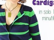 Refashion tutorial: trasformare maglione cardigan minuti!