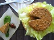 Formaggio lupini, noci alga kombu