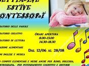Settimane estive Montessori Severino Marche (Mc)