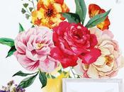 Adesivi murali amanti fiori