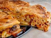 Timballo pasta ricetta riciclo