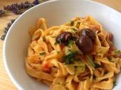 Tagliatelle tonno olive