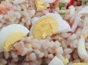 Insalata orzo verdure fresche