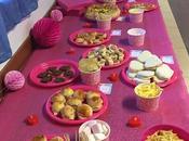 Buffet della festa Winx