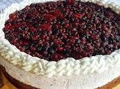 Cheesecake frutti bosco.
