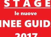 Stage extracurricolari, linee guida 2017