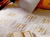 Copertina neonato all'uncinetto Geometrie Crochet baby blanket, free pattern
