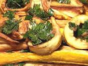 Zucchine gialle agrodolce ..piccantine