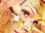 Prezioso elisir giovinezza:la maschera viso d'oro