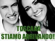 luna miele Will Kate Villa Toscana
