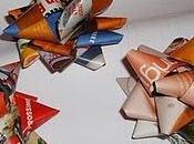 Come fare fiocchi regali carta riciclata/ make Gift bows from recycling papers