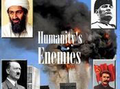 Osama Laden, Benito Mussolini, Adolf Hitler, Iosif Stalin. grandi nemici dell'umanità. qualcuno parla omicidio programmato