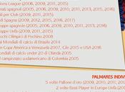 Messi, infografica suoi anni